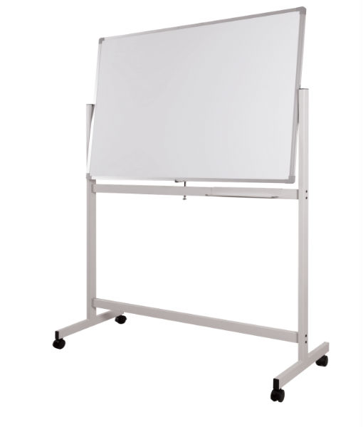 Double Sided Magnetic Whiteboard 4 X 6 With Stand Fp Media